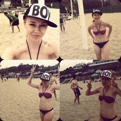 Beach volleyball fun