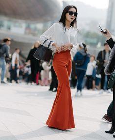 Seul Fashion Week - Street Style