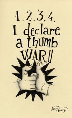 Dirty Harry - I declare a thumb war Moleskine, Thumb Wars, Back In The Day, Lol, Scrapbook, Lettering, Ganesha, Vintage, Tattoo