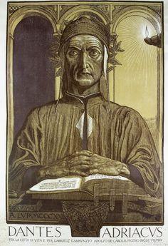 Dantes Adriacus ~ Adolfo de Carolis 1921