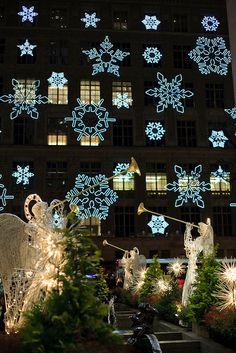 Christmas in Rockefeller Center, NYC