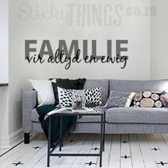 Welcome to StickyThings Wall Stickers South Africa - we offer wall stickers also known as wall decals, vinyl wall decals, wall art and even wall tattoos!