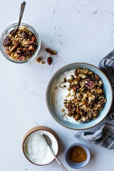 HONEY CARDAMOM & TAHINI GRANOLA