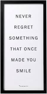 Bilderesultat for bloomingville posters Lotte World, Never Regret, Tutorial, Regrets, Make You Smile, Quotations, Cards Against Humanity, Wisdom, Make It Yourself