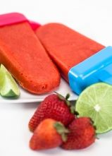 Blendtec Recipe of the Week: Strawberry Lime Popsicles