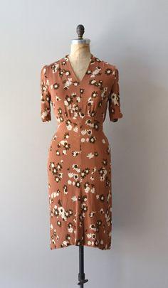vintage 1930s dress | Linger in the Woods dress