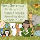 This 12-lesson unit on Plants and Animals Around the world will save you loads of time and help you cover Next Generation Science Standards for Kindergarten. It also includes connections to ELA and Math Common Core!