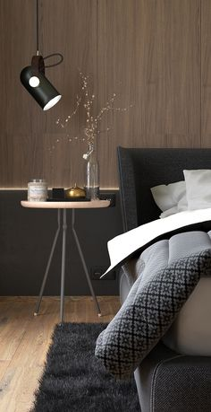Master bedroom on Behance