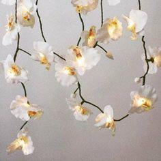 Easter Gift - White Orchid Flower String Lights - 20 Fairy Lights Garland by Belle Maison, http://www.amazon.co.uk/dp/B0064JSW4C/ref=cm_sw_r_pi_dp_JJ3Psb0EXBW0J