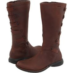 Merrell Tetra - waterproof elfy boots, so perfect for walking or scooting around Seattle, I LIVE in these!