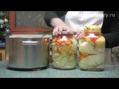 Рецепт -  Маринованная капуста  от видеокулинария.рф Бабушка Эмма