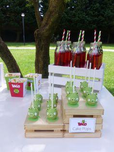 Peaceofcake ♥ Sweet Design: dessert table   Angry Birds