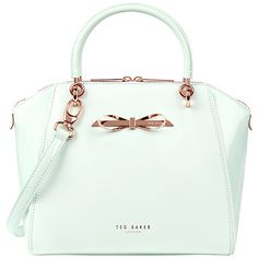 80fa003a41277 Buy Ted Baker Leather Pailey Bow Tote Bag Online at johnlewis.com Ted Baker  Totes