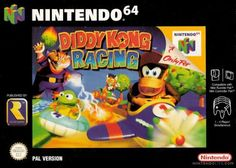 Diddy Kong Racing Nintendo 64. First game I took the time to complete everything it had to offer. Miss this!
