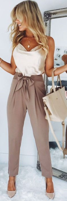 Loving this top styled with these work pants