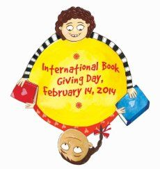 International Book Giving Day 2014 I didn't even know about this it looks like so much fun