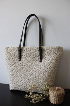 Handmade shabby chic cotton wedding bag lace bag lace tote vintage style ivory off white make to order Lace Bag, Wedding Gift Bags, Fabric Bags, Custom Bags, Bobbin Lace, Handmade Bags, Vintage Fashion, Vintage Style, Shabby Chic