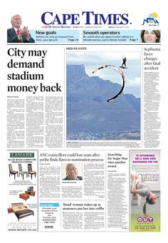 News making headlines: City demand stadium money back