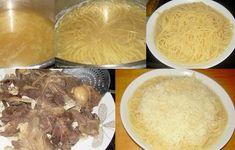 Μακαρόνια σε ζωμό κρέατος (κρητική μακαρονάδα) - cretangastronomy.gr