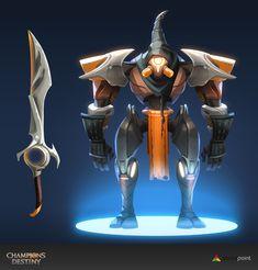ArtStation - Champions Destiny - characters, Guillem Serret