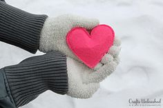 Learn How to Make Hand Warmers. Warm Hearts=Warm Hands!
