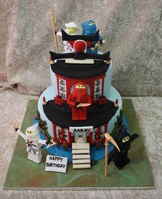 ninjago cake by The House of Cakes Dubai, via Flickr