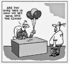Humour IT: Data in the cloud - Green.SI