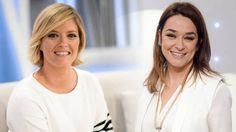Toñi Moreno y María Casado molestas tras su forzosa salida del armario