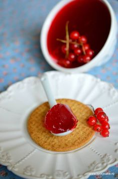 jeleu coacaze rosii zahar Lucky Cake, Nutella, Cereal, Fish, Breakfast, Mascarpone, Canning, Morning Coffee, Pisces