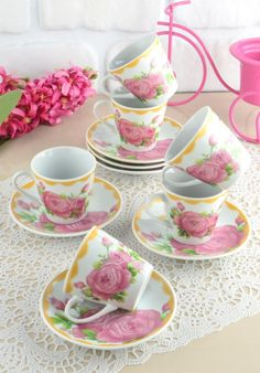 6'lı Kahve Fincan Takımı - Düşük fiyatlarla mağazalar ve teklifler