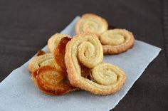 palmiers  I'll have some puff pastry left over from the Brie en croute, so why not?