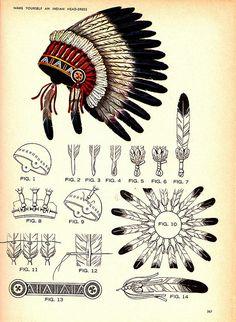 How to make an indian headdress @Alli Derks