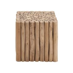 Teak Square Foot Stool