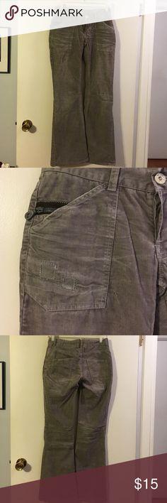 Ever grey corduroy pants. Cotton/poly. 4 ever Pants