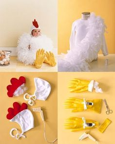 Do It Yourself Chicken Costume Chicken Costumes Chicken Diy Baby Chicken Costume Halloween 2013 Lovely Morning Chicken Costume Martha Stewart Halloween Chicken Costume Diy Felt Mask Tutorial By Chicken Costume Martha Stewart Diy Chicken Costume… Holidays Halloween, Halloween Costumes For Kids, Diy Costumes, Halloween Crafts, Costume Ideas, Halloween Unicorn, Easy Halloween, Mother Daughter Halloween Costumes, Farm Costumes