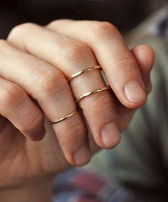 1mm Sterling Silver Ring