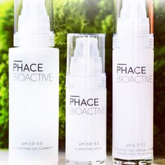 PHACE BIOACTIVE Clear Face Kit for blemish prone and aging skin, features our Detoxifying Gel Cleanser, Clarifying Serum, and Soothing Day Cream + Primer SPF 46. An excellent introduction to the line for women ages 25-45. #thephacelife #ph #balance #phbalance #beauty #heath #wellness #healthyskin #clearskin #antiaging #pure #natural #glow #naturalskincare #thephaceglow #skin #skincare #cosmetics #nontoxic #selflove #mindfulness #detox #lifestyle