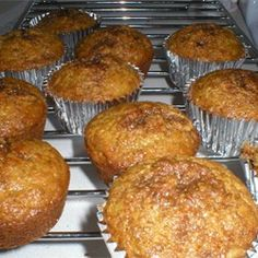 Bran+Muffins+II+-+Allrecipes.com.  Nov 2015. Halved this, added pecan pieces, and half whole wheat flour.  Turned out great!  SS