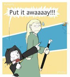 Lucius and Severus