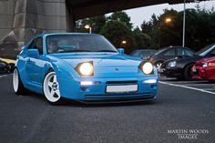 Porsche 944 S2 Riviera Blue Wide Body - Modified 228 BHP Japanese Styling JDM | eBay