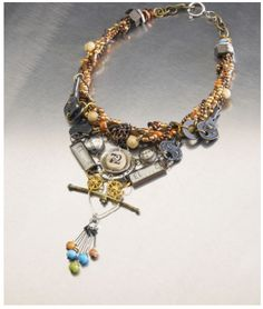 so much detail!! wow. http://slkindustrialchic.com/tutorials-2/necklaces/industrial-chic-key-to-her-heart-necklace/