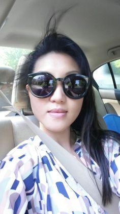 78bff142084 Loving my new Karen Walker sunglasses.