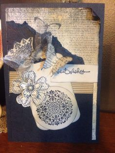 Stampin up with grunge