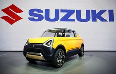 The Suzuki Mighty Deck concept car is seen at the Tokyo Motor Show in Tokyo, Japan. Kei Car, Tokyo Motor Show, Economic Times, Concept Cars, Investigations, Cool Cars, Transportation, Honda, Deck