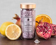 Citrus+Pomegranate+Aroma+Beads+for+$19.99+at+JewelScent.com Candle Wax Warmer, Aroma Beads, Jewelry Candles, Luxury Candles, Wax Tarts, Pomegranate, Scented Candles, Potpourri, Wax Warmers