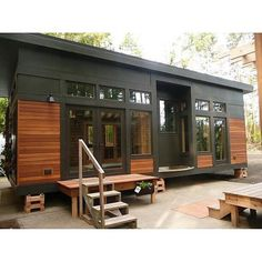 Who else loves the modern look and feel of this container home?  #Follow @mytinyhousetrip as I gather ideas and concepts for my tiny house build!  #tinyhome #moderndesign #minimalist #tinyliving #livingtiny #livingsmall  #Repost @jaguarcontainers  Like Share Comment ow.ly/Zud9f http://ift.tt/1SALwDa. #tinyhome #containerhome #tinyhouse #tinyhomes #tinyhouses #tinyhouselife #shippingcontainer #shippingcontainers #shippingcontainerhome #shippingcontainerhouse #containerhouse #crowdfunding…