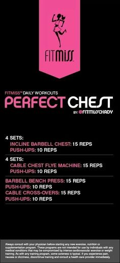 Chest workout by fitmiss
