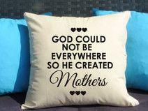 Mother, Poduszka dekoracyjna z nadrukiem, Prezent dla mamy, Dzień Mamy, Urodziny Mamy, Upominek dla Mamy, Poduszka dla mamy