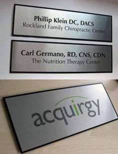 office door signs and name plates for office interior doors http