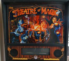 Theatre of Magic Pinball Machine ~ very Nice~